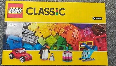 Lego Instruction Book only Set 10695 Creative Builder Box