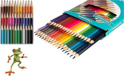 Classmaster Pack of 36 Assorted Colouring Pencils home/office/school ref:CPW36
