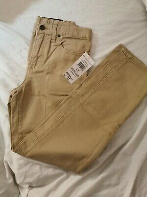 Polo Ralph Lauren Boys skinny Chino Trousers Age 7 brand new with tags