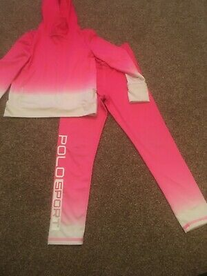 Girls Polo Ralph Lauren Tracksuit Age 6