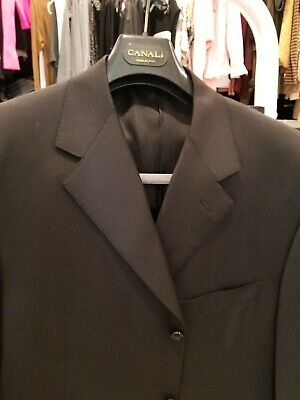 CANALI mens black suit 44 regular. Excellent condition.Only worn a few times.