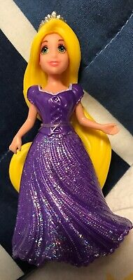 Polly Pocket Disney Princess MagiClip Dresses Rapunzel Tangled Magic Clip EUC