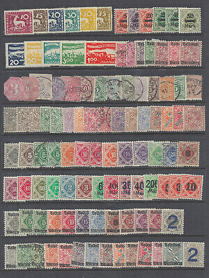 Wurttemberg stamp collection. Old German states