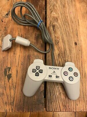 Sony Ps1 Controller Genuine Official Grey Scph-1080 Playstation 1