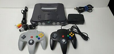 (LUP) Nintendo 64 Launch Edition Charcoal Grey Console (NTSC) With Box!