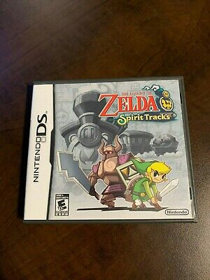 The Legend Of Zelda Spirit Tracks Nintendo DS Complete
