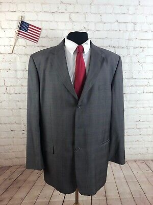 Austin Reed Men's Dark Gray Two Button Suit 42R Pants 37X26 $498