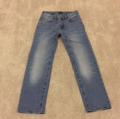 NWOT Gap Kids boys regular stretch straight jeans