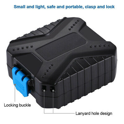 Memory Card Case Shock Absorption Storage Box Protection Hard Carrying Shell