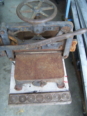 Old Letterpress , Binding and Printing Equipment  Press Industry ? , 277 Paragon