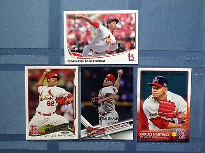 1265 St Louis Cardinals Baseball Cards With Carlos Martinez Rc, 76 Ozzzie Smith