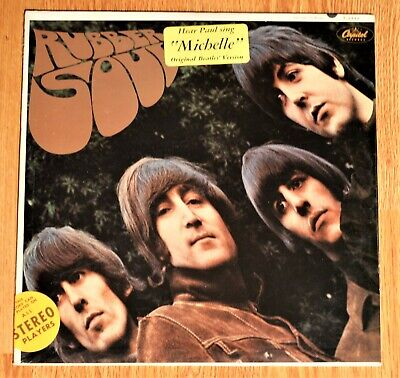 The Beatles RUBBER SOUL original FACTORY SEALED first pressing WITH HYPE STICKER