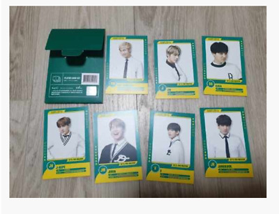BTS Bangtan Boys Muster 3rd Mini Photocard Photo Card 7 Full SET FEW RARE Cheap