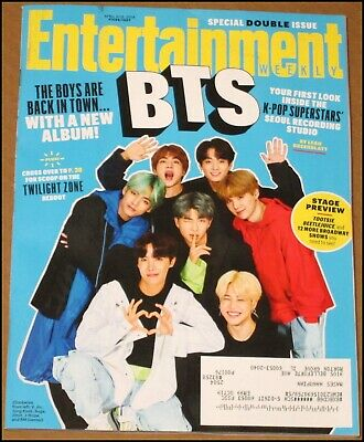 4/5/2019 4/12/2019 Entertainment Weekly BTS K-Pop Jordan Peele The Twilight Zone