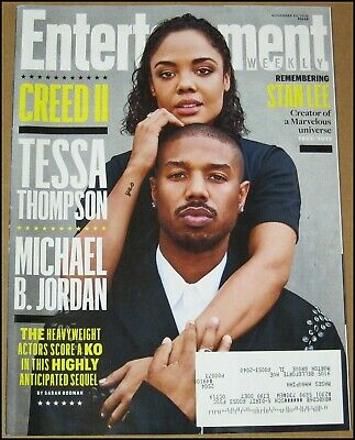 11/30/2018 Entertainment Weekly Creed Tessa Thompson Michael B Jordan Stan Lee
