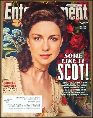 10/12/2018 Entertainment Weekly Outlander Caitriona Balfe Claire Fraser Cover #2