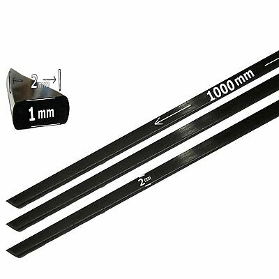 (1) 1mm x 2mm 1000mm - PULTRUDED-Flat Carbon Fiber Bar. 100% Pultruded high...
