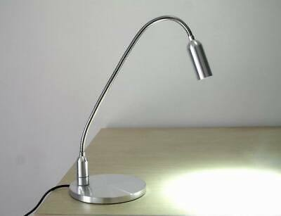 Microscope Illuminator Adjustable LED Gooseneck Light Shade-Free Repair Lamp
