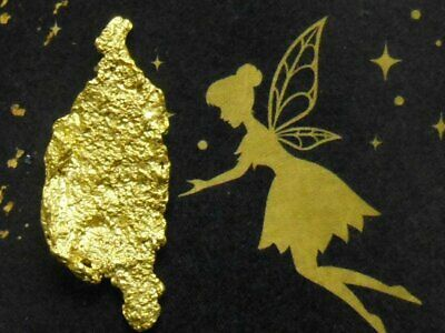 Australian Gold Nugget Victorian Tooth Fairy Gold 3.243g
