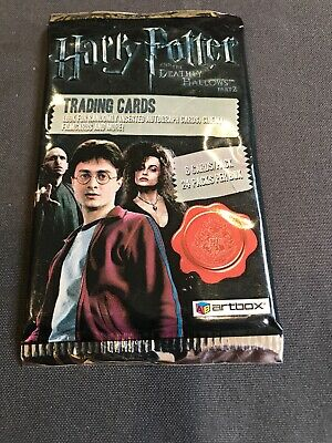 harry potter Trading Cards , 10 Packs =$21-