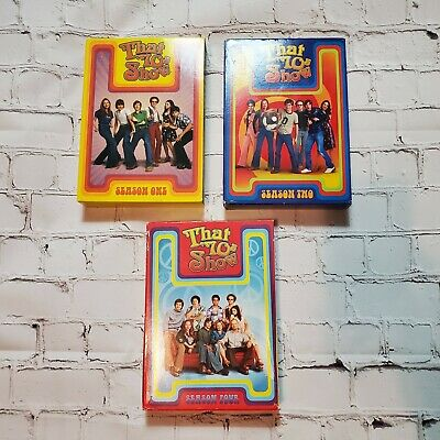 That 70s Show: The Series Lot of seasons 1,2 and 4 DVD