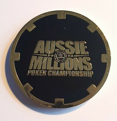 CROWN CASINO Melbourne Card Guard Card Protector - Aussie Millions Poker Champs