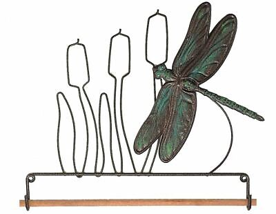 Quilt Hanger- Dragonfly Fabric holder 7.5in