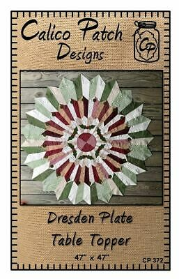 Dresden Plate Table Topper Pattern