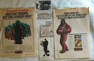 Rare Vintage Star Wars Advertising and Other Newspaper Articles