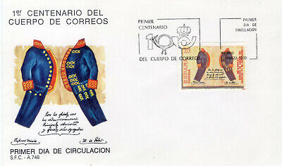Spanish 1989 First Day Cover. Edifil 2998.