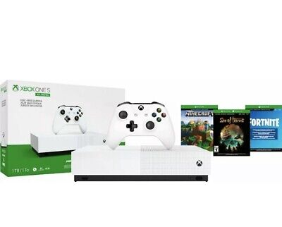 Microsoft - Xbox One S 1TB All-Digital Edition Console (Disc-free Gaming) -White