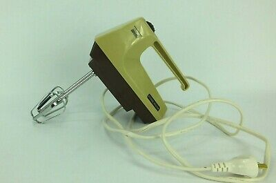 Vintage Kitchen Master variable speed electric hand mixer Made in Hong Kong