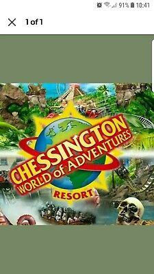 Chessington World Of Adventures - E-Tickets x 2 - Saturday 19th September  2020