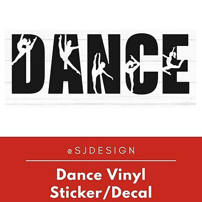 Dance Laptop Vinyl Decal Sticker Macbook 11 13 15 17""