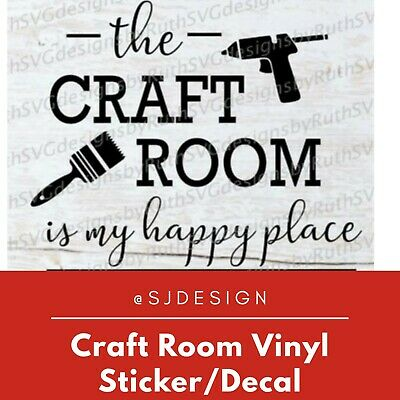 CRAFT ROOM Laptop Vinyl Decal Sticker Macbook 11 13 15 17""
