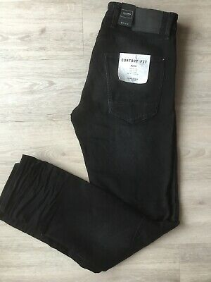 Jack &Jones Jeans Mike Comfort Fit schwarz W33 L34