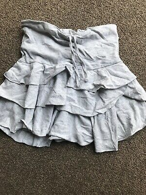 Girls Skirt Age 5-6 F&F Grey