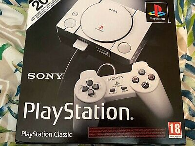 Sony PlayStation PS Classic Mini Console Perfect Condition Used Twice In Box