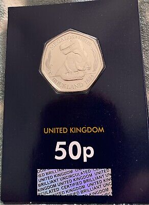 2020 Megalosaurus Dinosaur 50p Fifty Pence Coin Uncirculated