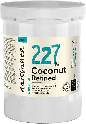 Naissance Organic Refined Coconut Solid Oil #227 1kg - Pure, Natural, Certified