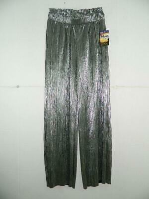 Be Bop Juniors' Pleated High Rise Metallic Pants NWT Size S X 30 RV $44 A1