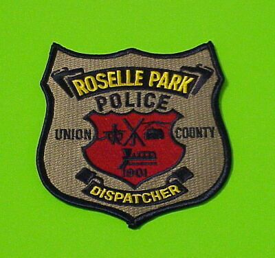 New Jersey Hillside Police Union County NJ Police Embroidered Shoulder Patch