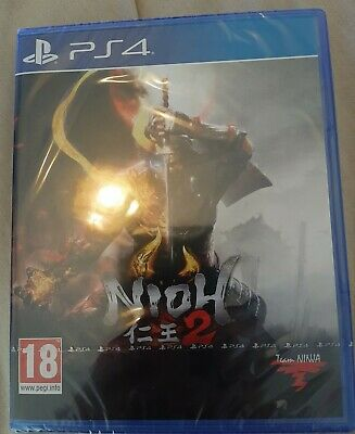 Nioh 2 Playstation 4 PS4 BRAND NEW FACTORY SEALED.