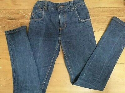 NEXT Boys Blue Skinny Jeans Age 12 Years With Adjustable Waist Height 152cm