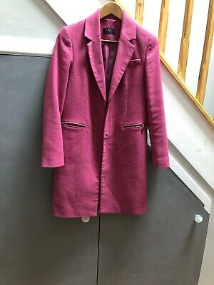 Pink Holly M and S Coat Size 6