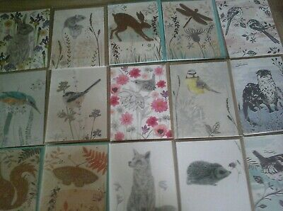 40 Rspb Wow Cards, Wholesale Joblot Greeting Cards