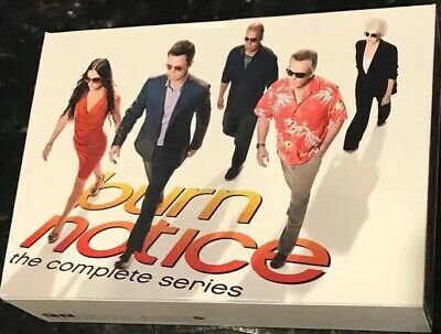 Burn Notice: The Complete Series (DVD, 2013, 29-Disc Set)