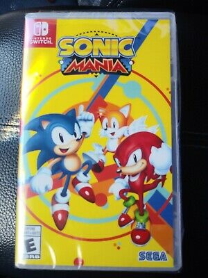 New Sonic Mania Nintendo Switch Coop Mode, Online, Competion Mode, Classic Zones