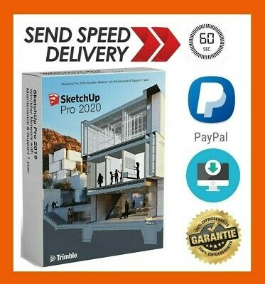 🔥SketchUp Pro 2020 for Windows🔥LifeTime🔥free FAST EMAIL delivery 15 Sic