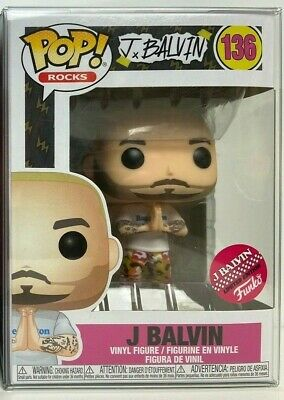 Funko Pop Rocks J Balvin #136 Limited Edition Exclusive Shipped w/ Protector